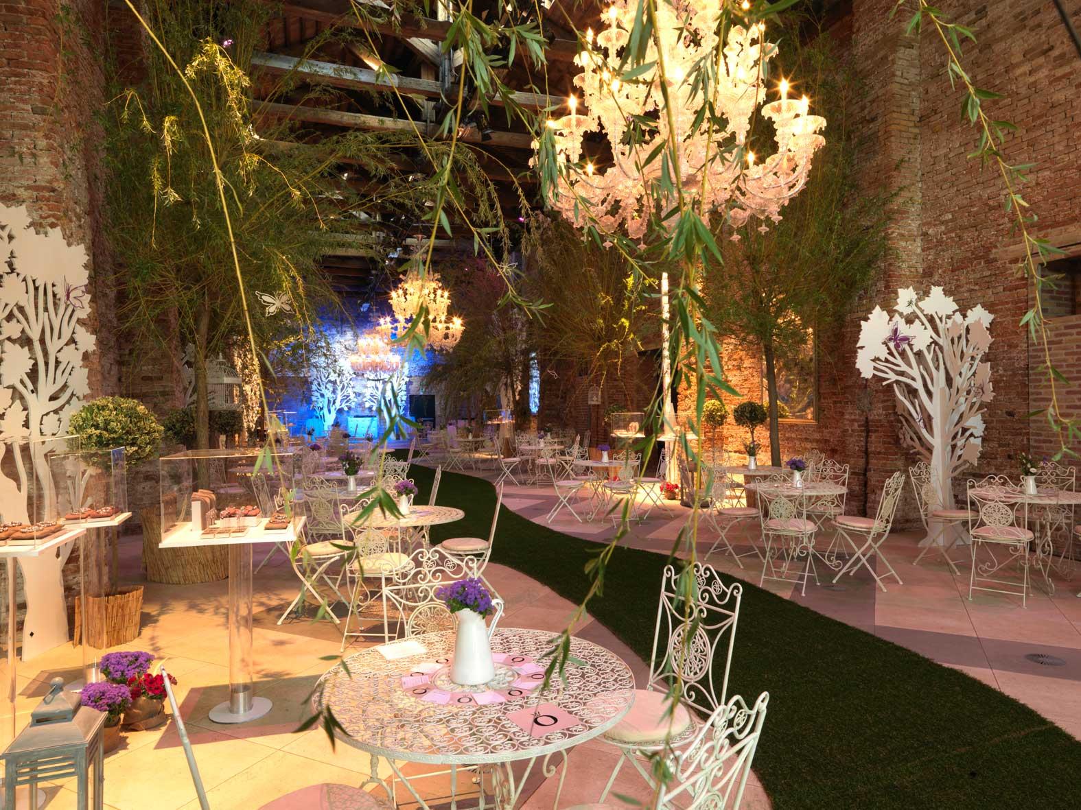 allestimento CharmIN Garden Party Pandora