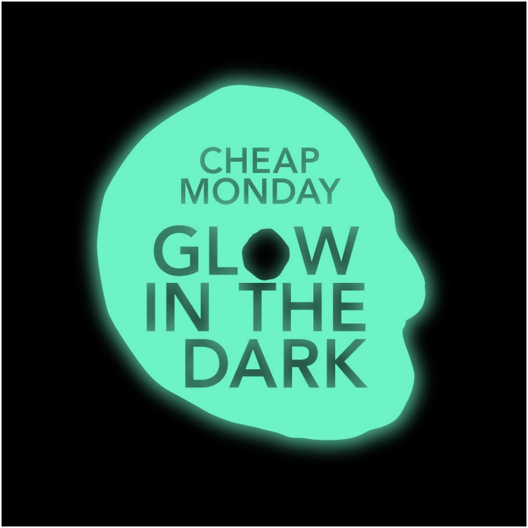 Cheap monday_glow in the dark_logo