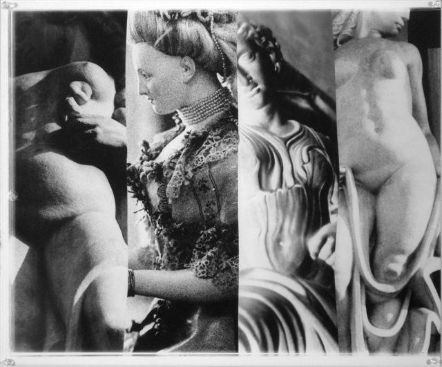 George Woodman Fregio, il museo dentro e fuori 1998, stampa ai sali d'argento, dimensione tot 47,5x708cm (6)