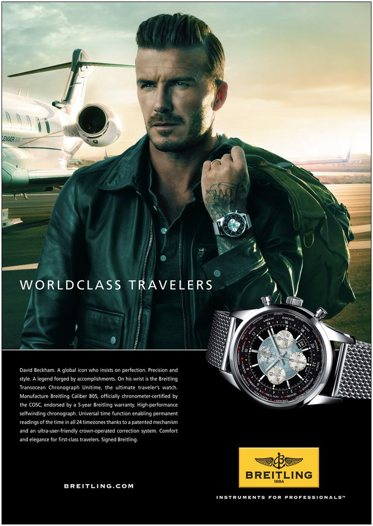 orologio di david beckham