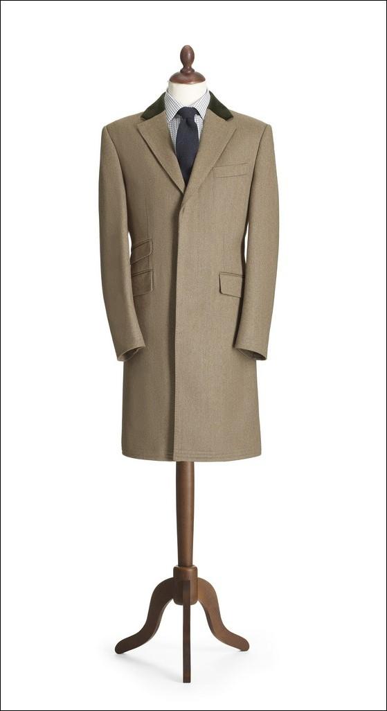 Crombie - Lovat Covert Coat - Mannequin - A