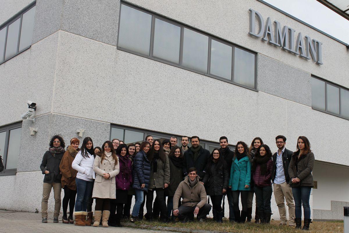 Damiani partner corso design del gioiello scenario for Corso di design del gioiello