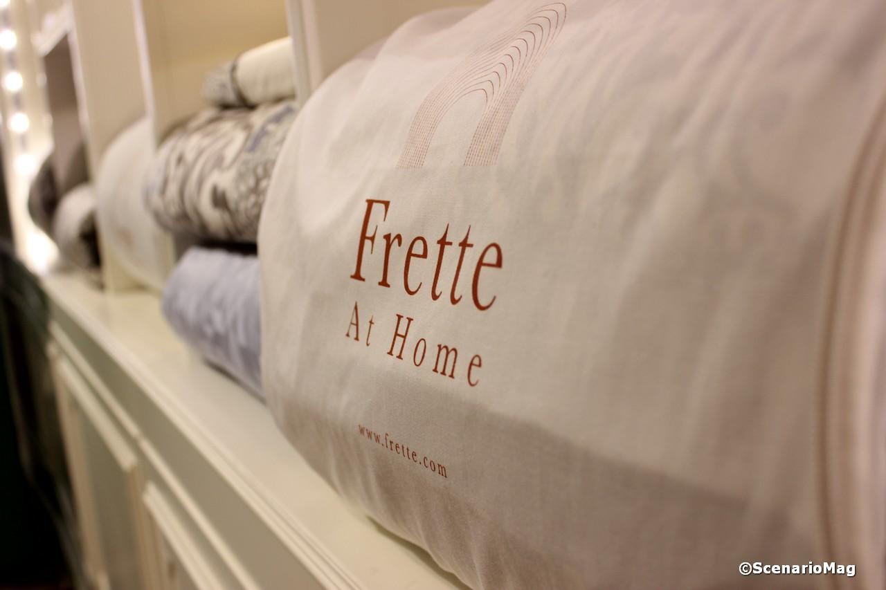 Frette at home cocktail partyscenario for Frette milano