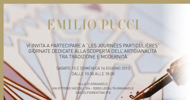 Emilio Pucci Les Journées Particulières