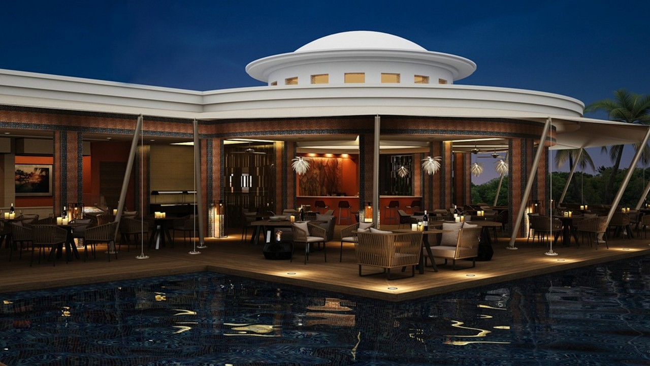 Pool Bar - Savoy Resort & Spa
