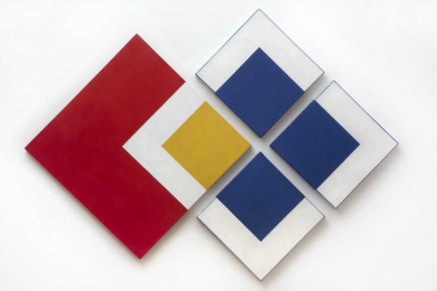 Alejandro Puente, Sistema, 1967, óleo sobre tela, 180 x 240 cm