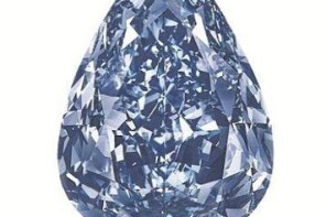 """The Blue"" the largest flawless vivid blue diamond in the world"