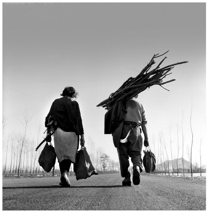 Sulla strada per Cavour, 1950