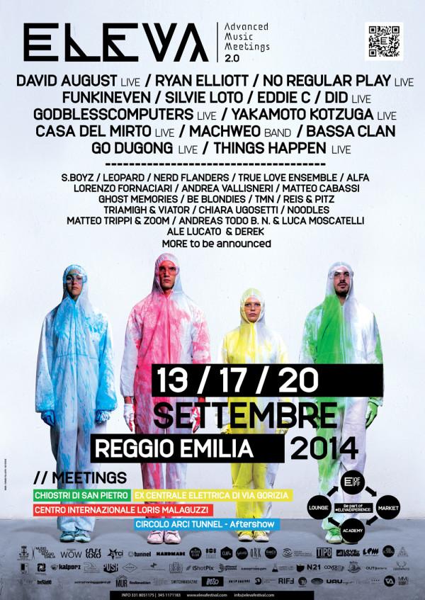 eleva festival 2014 a reggio emilia
