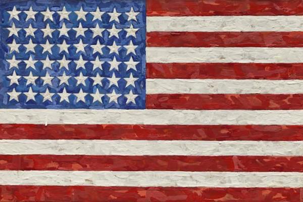 Flag di Jasper Johns