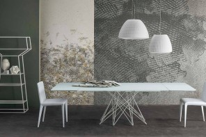 Bonaldo presenta le nuove versioni del tavolo Octa di Bartoli Design
