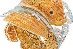 Il bracciale orologio Carpe Koï di Van Cleef Arpels