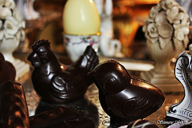 pulcini di cioccolato pistocchi