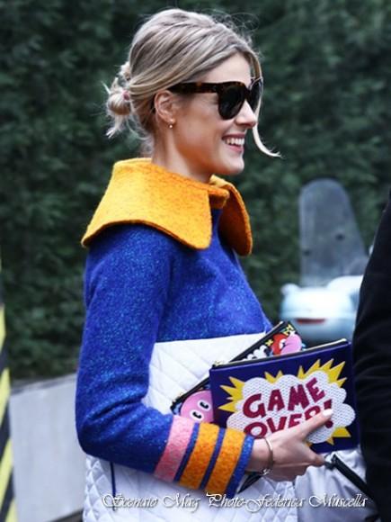 street style milano fashion week giorgio armani fall winter 2015-2016