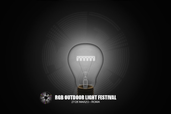 RGB Outdoor Light Festival