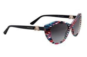 Dettagli ed artigianalità per gli occhiali Bulgari