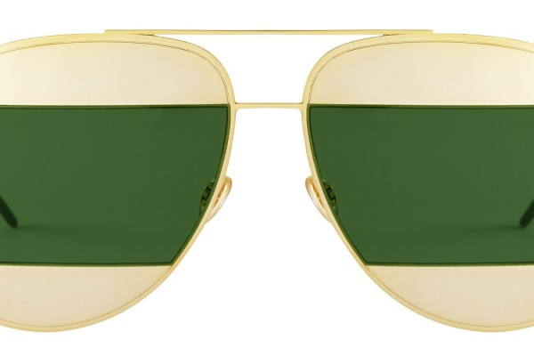 DIORSPLIT-GOLD-GREEN-FRONT