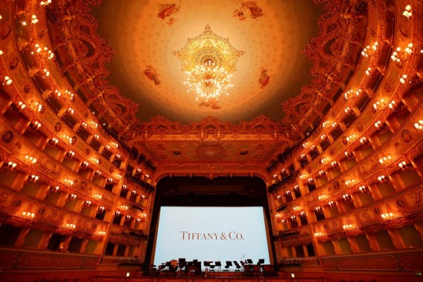"""Tiffany & Co. New Store Opening Gala At La Fenice Theatre"""