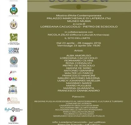 SonOra a Palazzo Marchesale e Museo MuMa Laterza