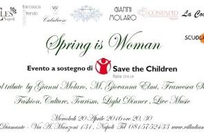 Spring is woman a Villa Diamante a Napoli