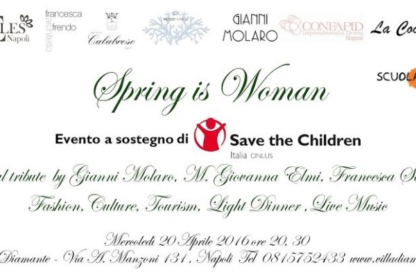 spring is woman a napoli