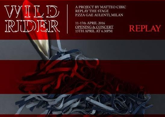 REPLAY presenta WILD RIDER --- A project by Matteo Cibic