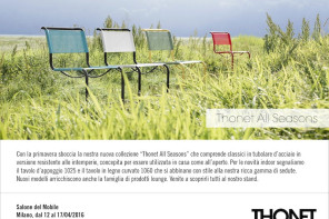 Thonet GmbH alla Milan Design Week 2016