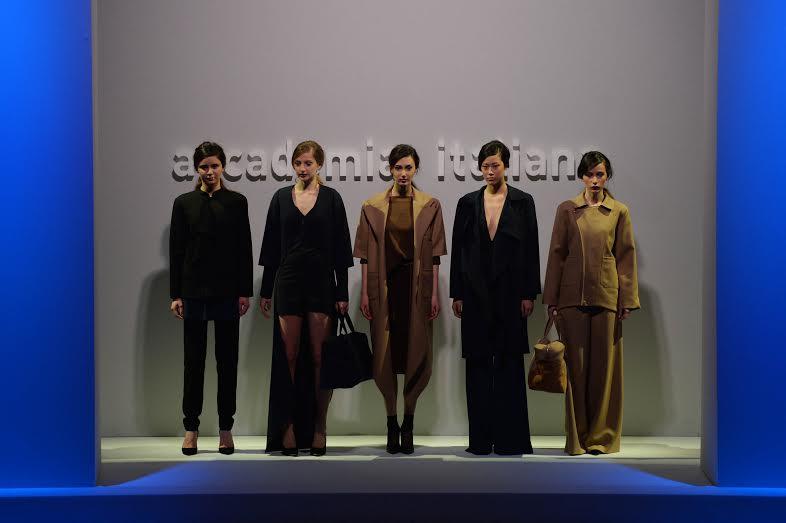 Sfilata degli allievi di accademia italiana arte moda for Accademia della moda milano