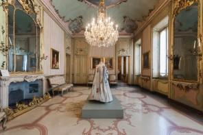Abiti di Maria Antonietta Tovini per la mostra 'Dialoghi di filo'