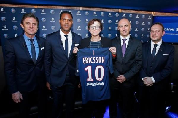 Il Paris Saint-Germain annuncia una partnership con Ericsson