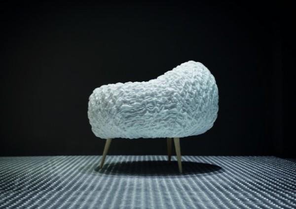 LightsOn L16 la poltrona a forma di nuvola by Studio Sanaa