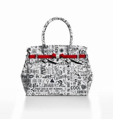 save my bag stampa love words
