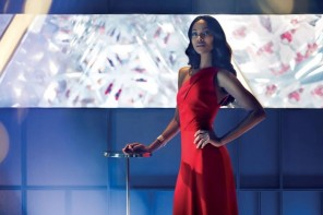 Zoe Saldana per Campari Red Diaries