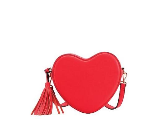 borsa a forma di cuore