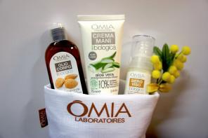Omia: Crema mani, olio di Mandorla e siero viso