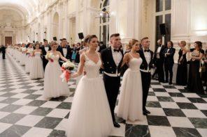 Ballo delle debuttanti alla Venaria Reale