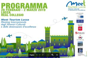 A Lucca il Meeting Internazionale degli Itinerari Culturali