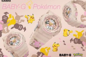 Casio annuncia la collaborazione del brand BABY-G con Pokémon