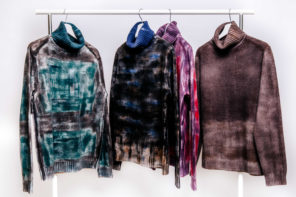 ALTO MILANO launches a capsule of hand-painted sweaters